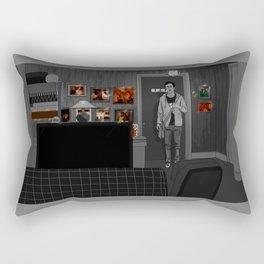 A Lack of Color Rectangular Pillow