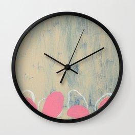 Violet's Delight Wall Clock