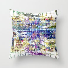 Stay awake, clear clouded head and run into nodes. Throw Pillow
