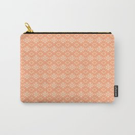 Peach Pattern Design Carry-All Pouch