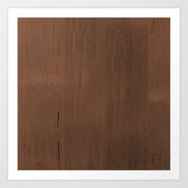 Wood Feeling Art Print