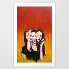 Decisions Art Print