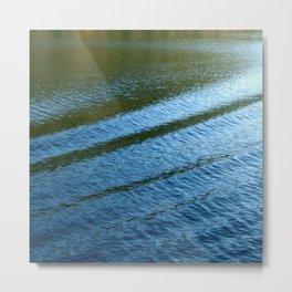 Wake at the Lake: Fine Art Photo Metal Print