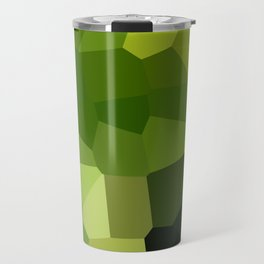 Green and pointy grow the pixel leaves Travel Mug