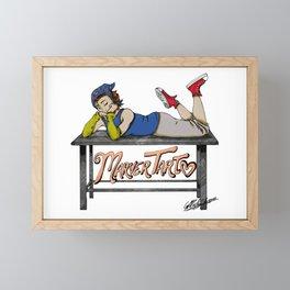 MarvertTart Framed Mini Art Print