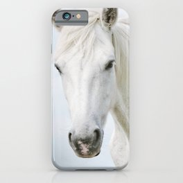 Pale Horse - Nature Photography iPhone Case