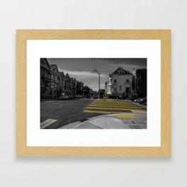 Street of San Francisco Framed Art Print