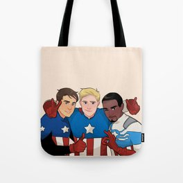Cap Cubed Part Two Tote Bag