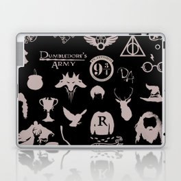 potter's head Laptop & iPad Skin
