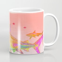 Candy Sharks Coffee Mug