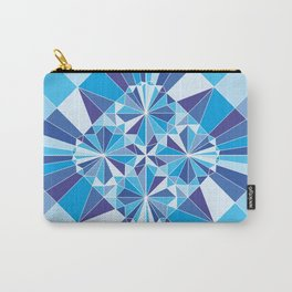 Kaleidoscopic whale Carry-All Pouch