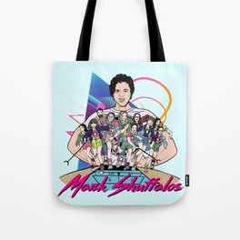 Shuffalos Blue Tote Bag