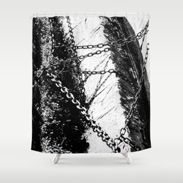 Chain Shower Curtain