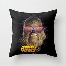 Chewbacca Swag Throw Pillow