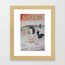 Bobby Hill in Pulp Fiction Framed Art Print