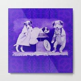 DogCurios 08 Metal Print