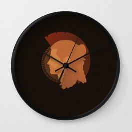 Spartan sibling - Alexios Wall Clock