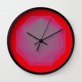 Purlygons Wall Clock
