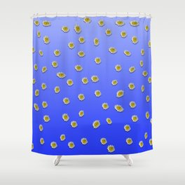 Scattered Daisies Shower Curtain