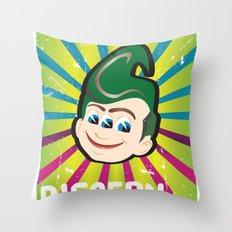 Discern Throw Pillow