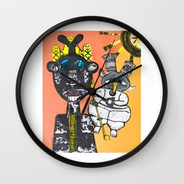 """Inspiration solaire"" / ""Solar Inspiration"" Wall Clock"