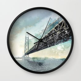 San Francisco - Bay Bridge Wall Clock