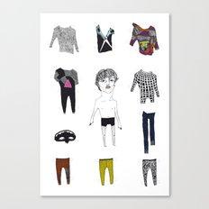 Paperdoll #4 Canvas Print