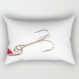Fishing Tackle 3 Rectangular Pillow