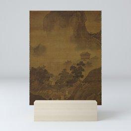 Sesshu Toyo - Landscape of Four Seasons, Fall (1490s) Mini Art Print