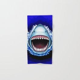 Shark Jaws Attack Hand & Bath Towel