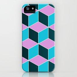 Pop Blocks iPhone Case