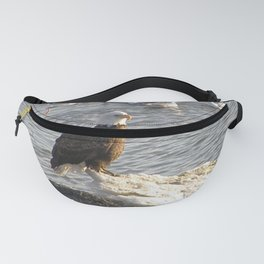 Eagle on Ice Fanny Pack