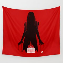 Carrie (Red Collection) Wall Tapestry