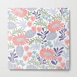 Spring garden in bloom Metal Print