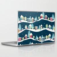 ski Laptop & iPad Skins featuring Apres Ski by Polkip