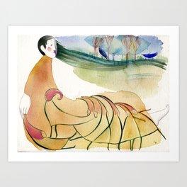 Elementals Art Print