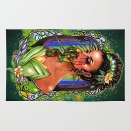 The Madness of Tiana and the Frog Rug
