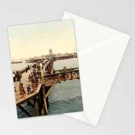 The Jetty at Margate, Kent Stationery Cards