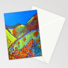 Hillside flowers  Stationery Cards
