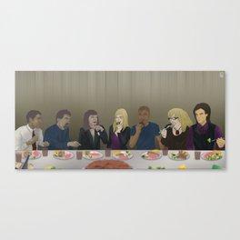 Criminal Minds Final Meal Canvas Print