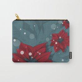 Poinsettias - Christmas flowers | BG Color II Carry-All Pouch
