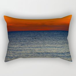 Contrast Ocean Rectangular Pillow