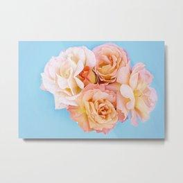 Pretty in Peach Metal Print