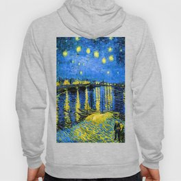 Van Gogh Starry Night Over the Rhone Hoody
