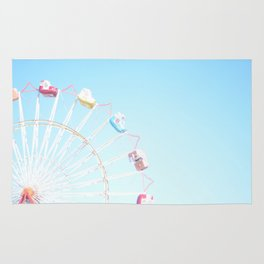 Fryeburg Fair Ferris Wheel Rug