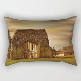 Glastonbury Abbey Rectangular Pillow