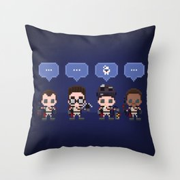 The Choice is Made Throw Pillow