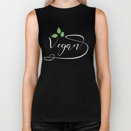 Vegan health plantbased herbivore lifestyle Biker Tank