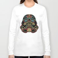 trooper Long Sleeve T-shirts featuring Candie Trooper by Quakerninja