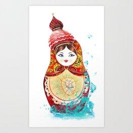 Moscow Art Print